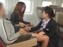 sdde-138-tekoki_airlines_stewardess_cfnm_handjobs_scene_1