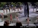 public-cfnm-naked-students-dance-around-fountain