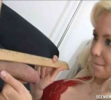 Margo measures the dick of her daughters boyfriend