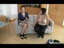 Rocco interviews girl while nude