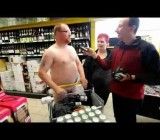 A Naked shopping day in Germany cfnm compilation
