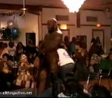 black male stripper gets it on with the ladies