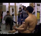 CFNM life drawing class from BBC TV