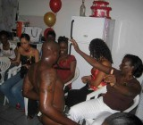 Black girls bachelorette stripper