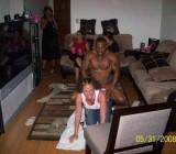 girls get crazy with black stripper