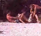 Poor guy gets stripped naked with girls filming