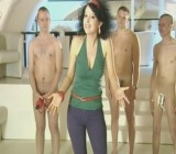 Brunette presents 3 kinds of penis extenders