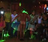 Stripper Juan Romeo gets naked for Latinas