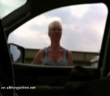 MILF gives directions to guy jerking off