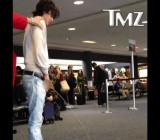Drunk Twilight star pees at public airport gate