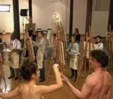 Today Show hosts paint two nude models