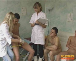 Group CFNM Examanation by 2 female nurses3