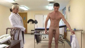 Doctor checks gay men vince laid back with