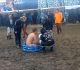 Naked Assault Course at Roskilde Festival - cam 2