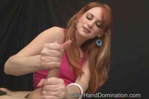 Post orgasm cock head sensitivity torture