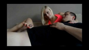 WO-221-Blonde cutie gives slow teasing CFNM handjob2