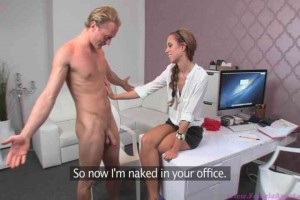 Naked Interview Porn