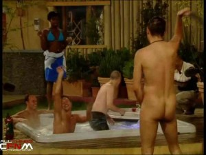 British girls strip guys naked in multiple settings on hidden cam