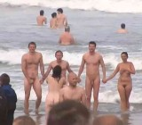 Skinny dipping for charity event