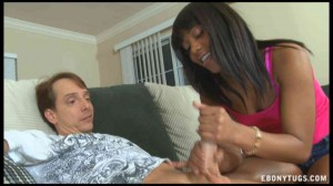 Interracial handjob & blowjob for charity