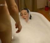 Im Brautkleid meiner Schwester CFNM bathroom & sleeping scenes2