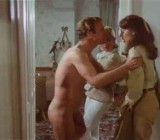 Joy Of Flying - 1977 - CFNM scene 1 - towel slip & bathroom nudity