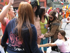 03 Naked and erect in public at Bay To Breakers