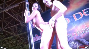 Mar Duran - FICEB stage sex show - Barcelona - 2012