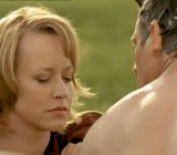 CFNM shower voyeurism scene from Die Braut von der Tankstelle