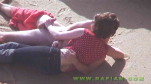 CFNM casual handjob & blowjob