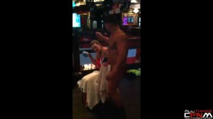 British woman embarrassed by her 30th birthday stripper