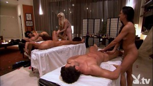 CFNM massage class & couples hookups