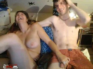 Webcam couple CFNM featuring sexygamer4u
