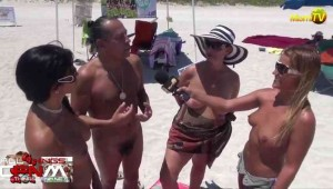 Jenny Scordamaglia interviews Go Topless Day 2014 attendees - pt 1