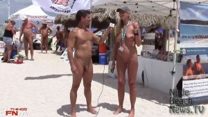 Nude Beach News - interview with Nancy Tiemann