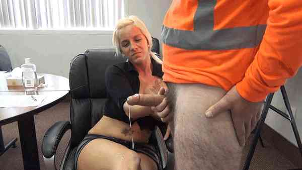 CFNM-handjob-cum-all-over-my-legs