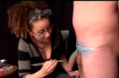 image Medical exam blow hand panty down