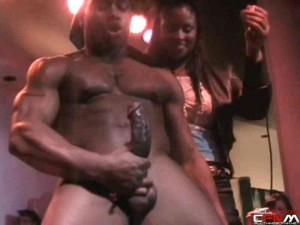 SITH-Crowd of black women go crazy over male stripper Bolo92