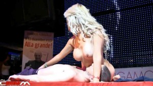 Congratulate, Female strippers on stage