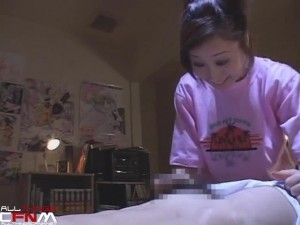 Japanese CFNM film - scene 1 - sister inspects cock4