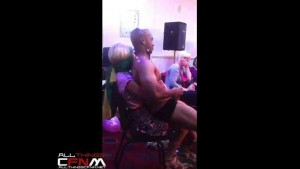 Black Male Stripper home party - Ladies shocked by stripper in camo showing off BBC2