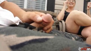 Jacking Off In Front Of Wife