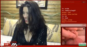 Webcam CFNM SPH by cam model Anicka-2