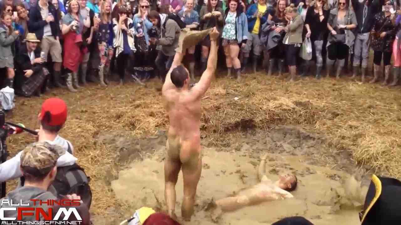 mud wrestling naked sexy strip