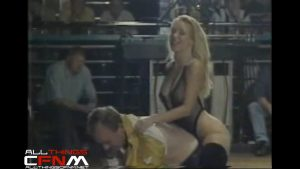 British Stripper strips man & belts his ass on The Adult Channel Roadshow.mp4_snapshot_08.39