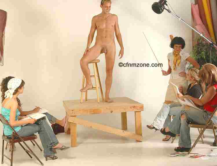 Naked Men At The Whim Of Clothed Women - All Things Cfnm -5831