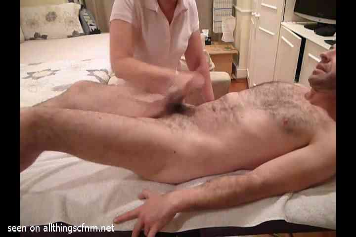 Four Examples Of Real Amateur Cfnm Massage Footage Plus -2528